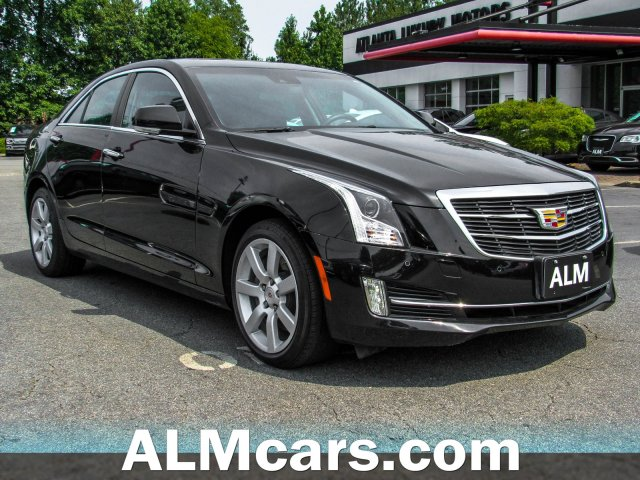 Pre-Owned 2018 Cadillac ATS Sedan Premium Luxury AWD