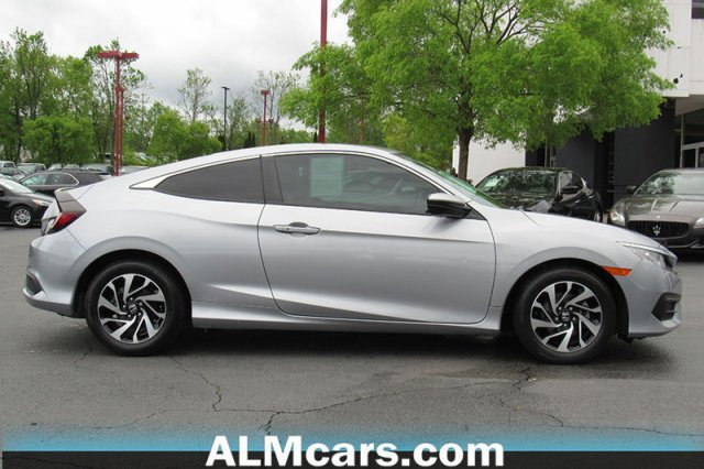 Pre-Owned 2017 Honda Civic Coupe LX-P