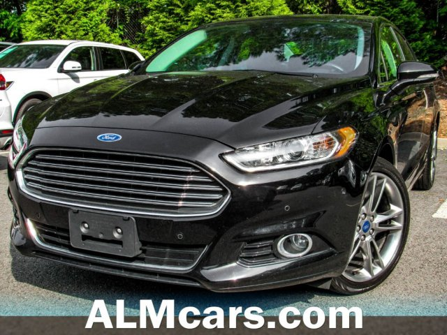 Pre-Owned 2016 Ford Fusion Titanium
