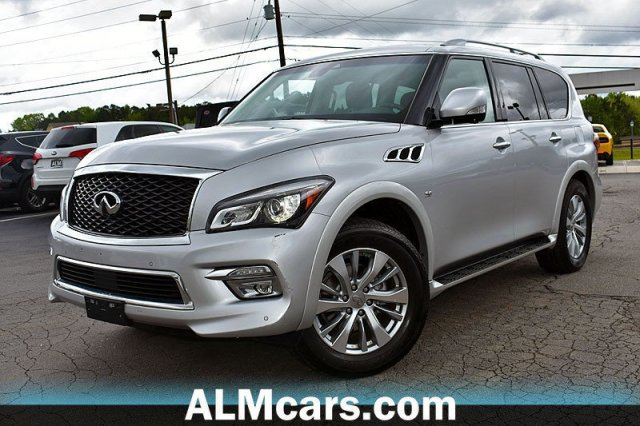 Pre-Owned 2017 INFINITI QX80 Base
