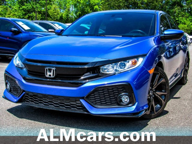 Pre-Owned 2018 Honda Civic Hatchback Sport