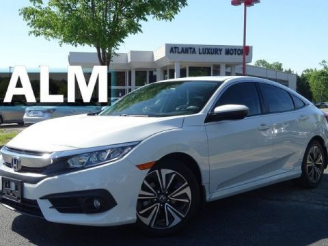 Pre-Owned 2016 Honda Civic Sedan EX-L