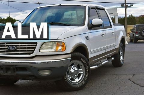 Pre-Owned 2001 Ford F-150 SuperCrew XLT