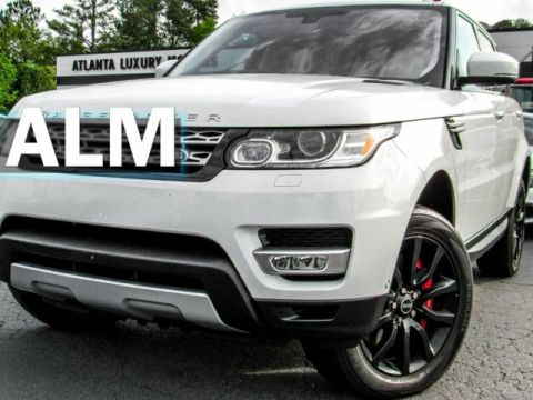 Pre-Owned 2016 Land Rover Range Rover Sport V8 Supercharged